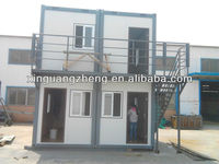 two storey steel building and economic 20ftcontainer house