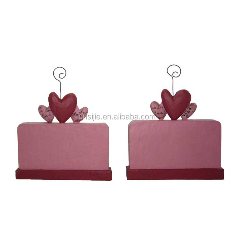 Resin crafts Valentine's Day gift wall hangings for home decoration