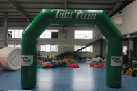 sealed inflatable sport arch for event with high quality