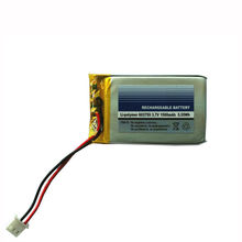 3.7V 1500mAh Lithium Polymer Rechargeable battery 603759