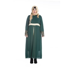 kaftan long sleeve maxi dress for dubai muslim girls