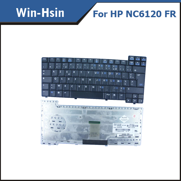 AZERTY FR laptop keyboard For HP Compaq NC6110 NC6120 NC6130