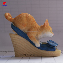 popular kids toy, polyresin cat toy, collectible toy made in China