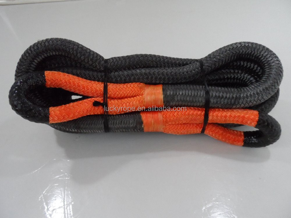nylon Tow rope tow vehicle tools Emergency truck auto car atv towing rope synthetic reeovery rope