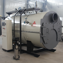 Natural circulation 3 ton oil steam boiler for rice mill