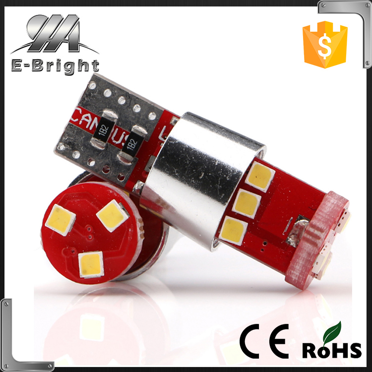 car led bulbs 194 168 501 T10 Back up reverse light 2323 T10 9SMD