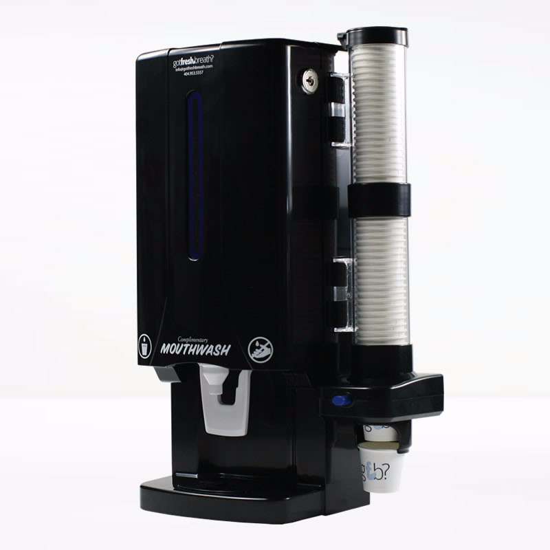 High quality Black Mouthwash Dispenser