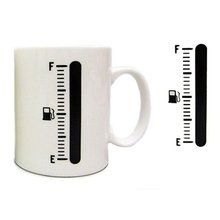 Zogift New Product Magic Color Change Cup Thermometer Coffee Mug Tank Up Mugs