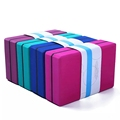 High Density 450g EVA Foam Blocks for yoga exercise to Support and Deepen Poses Improve Strength and Aid Balance indoors