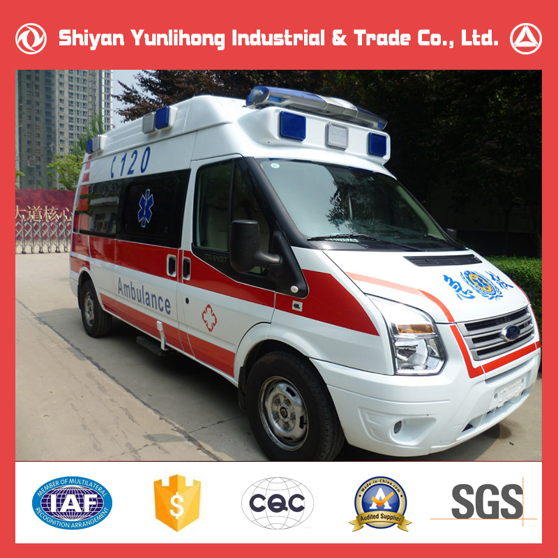 Yunlihong ICU Ambulance Vehicle Sale, Ambulance Manufacturer