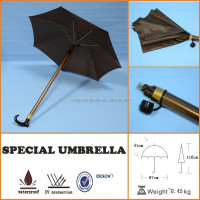 Straight Craft Sword Cane Stick Umbrella for Windproof Gift