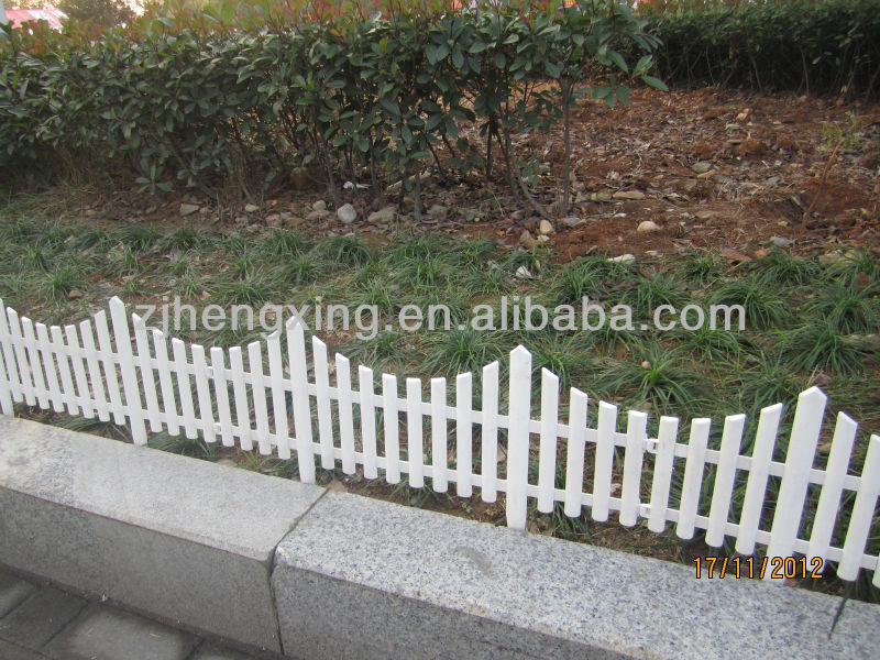 plastic garden fencing lawn edging fence