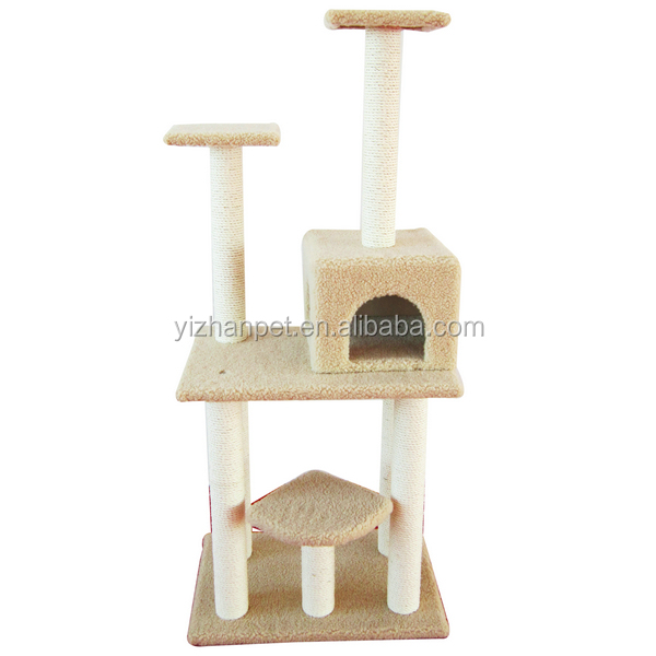 Delux cat tree Scratcher Furniture Kitten House Hammock cat tree