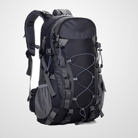 Waterproof Mountaineering Bag 40L Unisex High-capacity Travel Bag contains Rain Cover