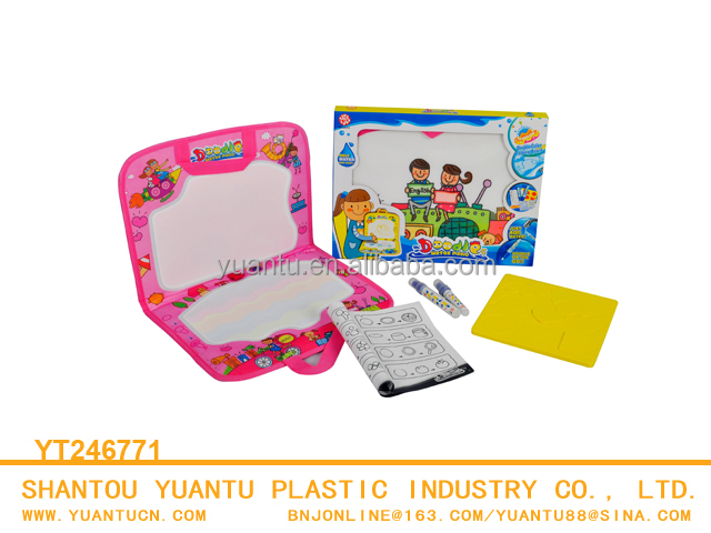Water magic doodle board hand-held design drawing mat for kids