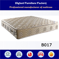 alibaba india single bed mattress price (B017)