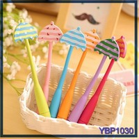 cute umbrella ballpoint pen springs roller ball pen wholesale stationery china