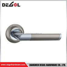 Wholesale solid zinc metal mortise door handle