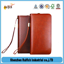High quality money clip leather,matte pu leather,long leather wallets