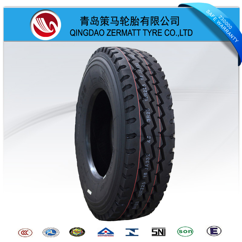 China New dump truck 11R22.5,11R24.5 truck Tire hot sell for Canada Market
