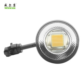 high lumen led track spot light 4 wire commercial Aluminum Lamp Body Material 70w COB Led Track Light