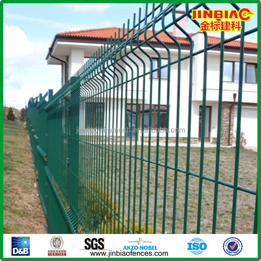 HOT Product High Quality 4x4 galvanized Welded wire mesh Fence / 3d panels/ Security Fencing With CE Certificat