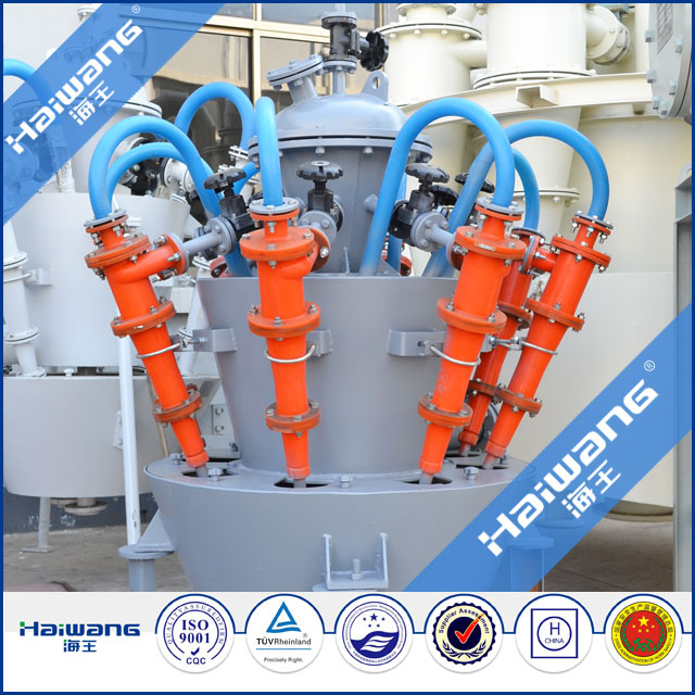 Hydrocyclone Separator Zinc Copper Cyclone For Dewatering And Concentrating