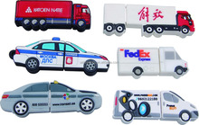 Promotional Truck/lorry pen disk, Custom freight train Truck van tanker Shape usb disk factory outlets China
