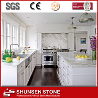 Man Made Stone Mordern Design Kitchen Countertop
