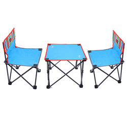 Adjustable Outdoor Picnic Travelling Relax 3 pcs Chair Camping Folding Chair sets
