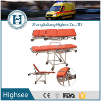 ambulance stretcher size