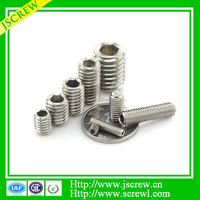 Low price ball plunger slotted set screw