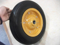 China factory solid rubber wheel for wheelbarrow 3.00-7 & 3.50-7