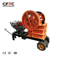 Hot sale mini diesel engine stone crusher pe 200 x 350 jaw crusher for rock crushing plant australia