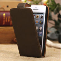 Magnetic Flip Case with Card Slot