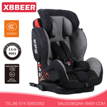 group1+2+3 buckle seat with ISOFIX car seats leather