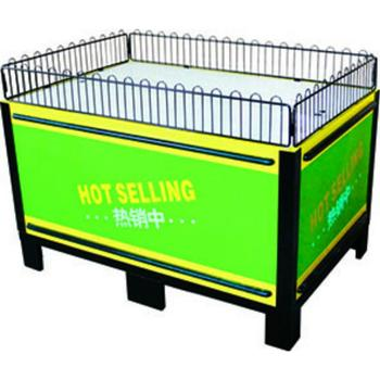 RH-PT036 height 850mm 12mm thickness acrylic fencing covers Hot Sale Supermarket Promotion Table, Promotion Desk