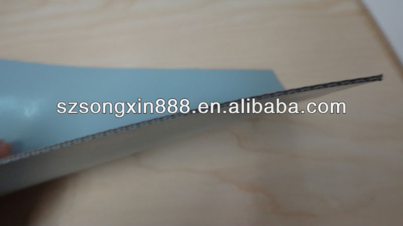 Two sides Silicone rubber coated fabric