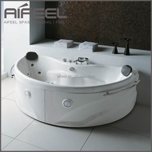 2 person massage acrylic portable whirlpool mini indoor hot tub free standing bathtub for adult