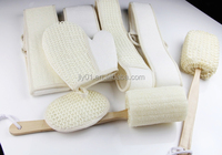 Luxury exfoliating Sisal loofah sponge products/ bath back scrubber/ Loofah exfoliating glove