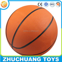 size 7 cheap bulk solid rubber basketball balls wholesale