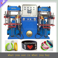 professional suppler automatic silicone bracelet machinery with 2 working table