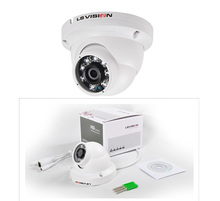 LS VISION 4-in-1 CCTV Format * TVI + CVI + AHD + Analog * 1080p 2.4mp Dome Security Camera with 3.6mm fixed lens