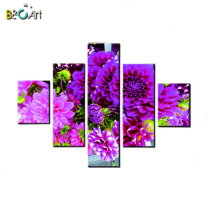 3D Flower Designs Decoration Flower Picture Home Goods Wall Art Canvas Painting