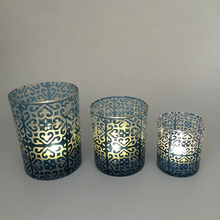Home Decor Wholesale Antique Round Arabic Candle Holder