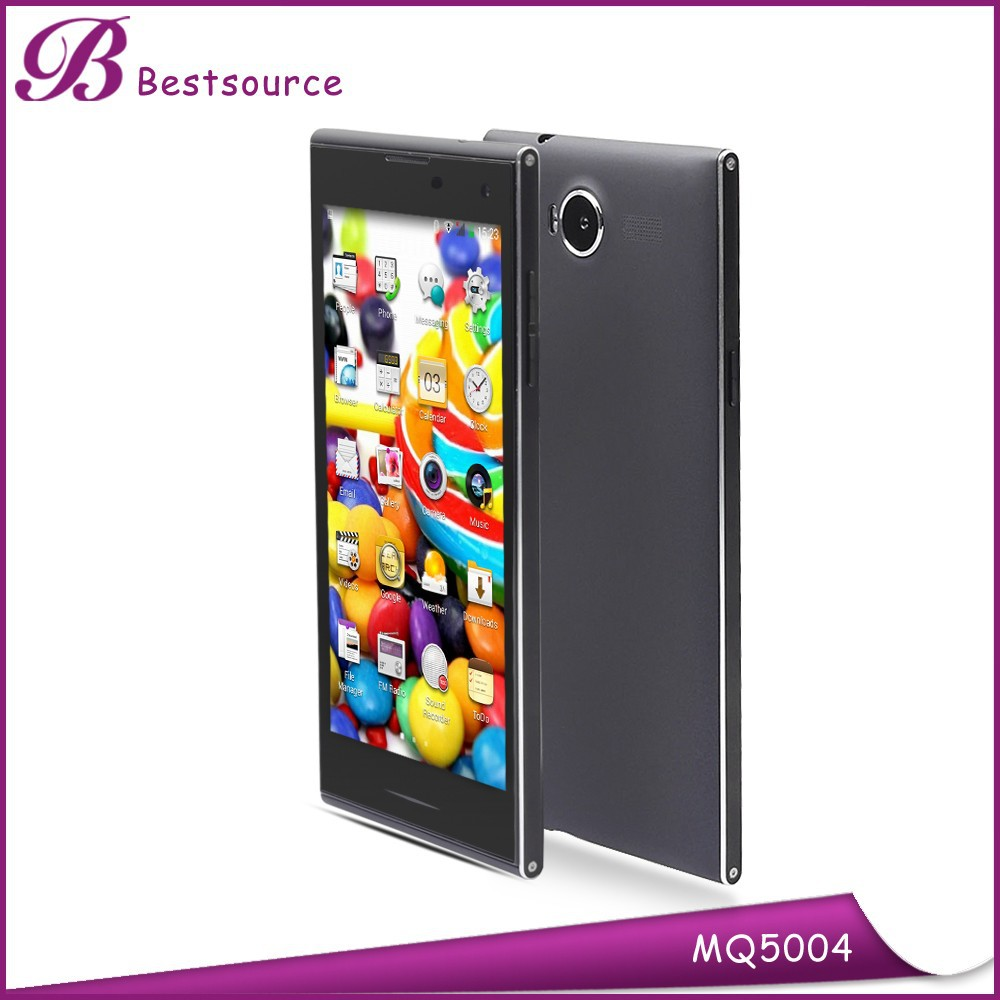 5.0inch android phone with usb otg, stereo fm radio mobile phone, clear talk phones