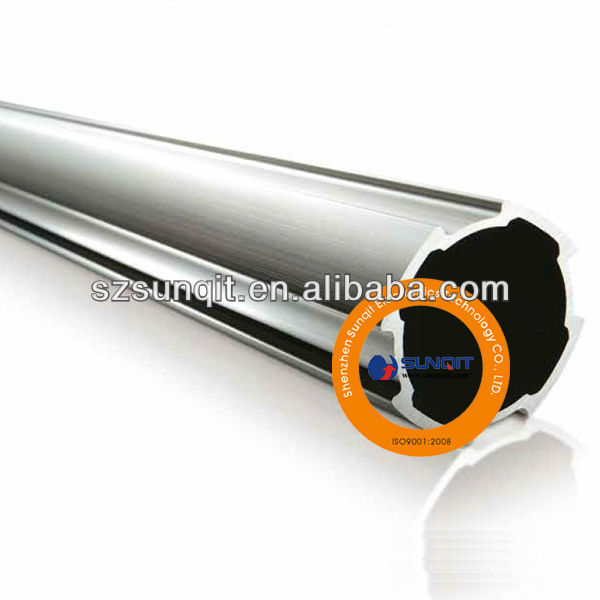 Aluminum pipe for assemble line