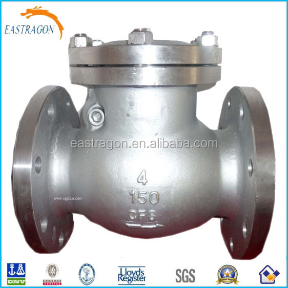 Marine JIS Cast Iron Swing Check Valves 5K DN50