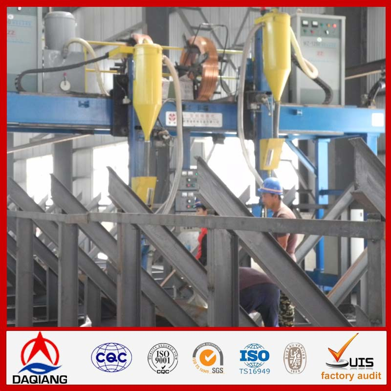Steel structures 3 floors steel prefabricated buildings materials