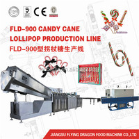 FLD-300 automatic candy cane lollipop making machine